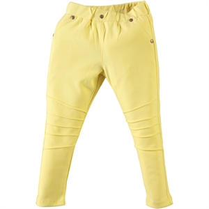 Civil Girls Series Pleated Tights Age 3-10 Yellow