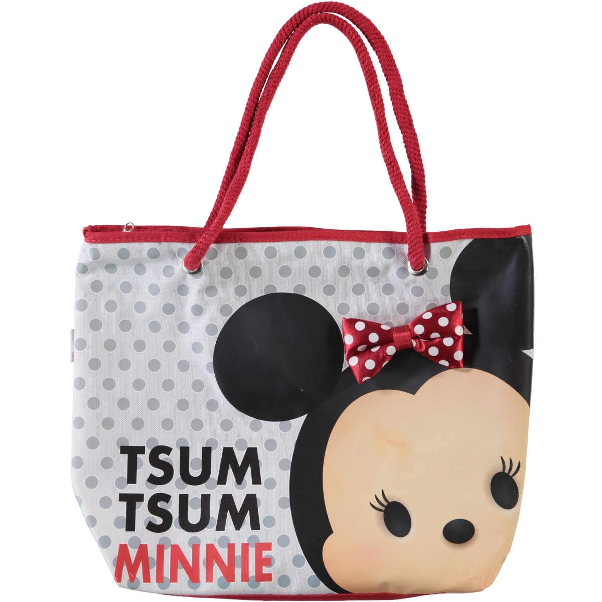Disney Tsum Tsum Girl Beach Bag Red