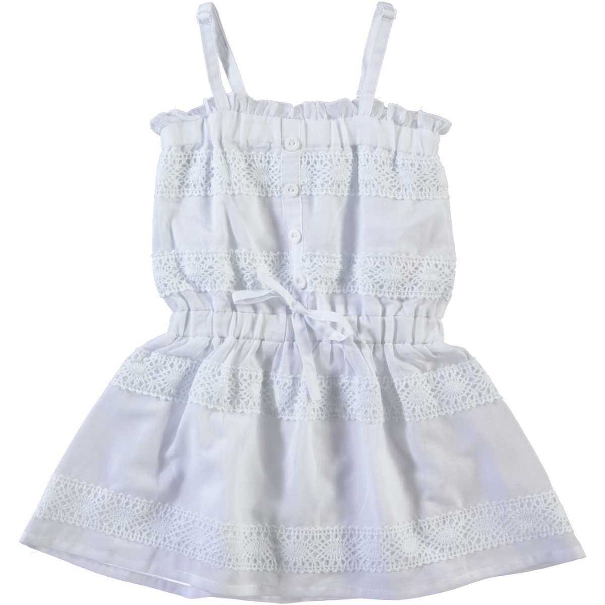 Missiva Girls White Girls Dress 2-5 Years Civil