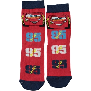 Cars Cimpa Socks Boy Red Age 3-9