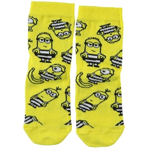 Minions Cimpa Socks Yellow Boy Age 3-9