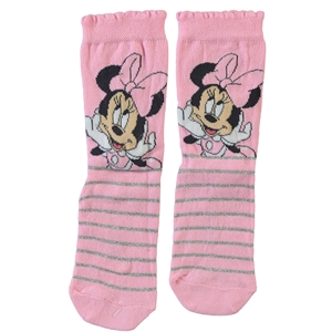 Minnie Mouse Cimpa Girl Socks Pink Age 3-9
