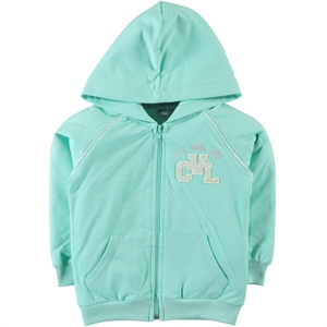Cvl Girls Mint Green Hooded Cardigan Age 6-9