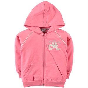Cvl Girls Light Tan Hooded Cardigan Age 6-9