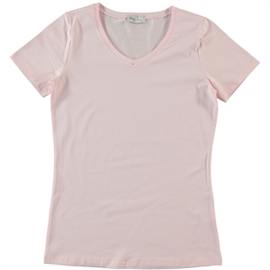 Cvl Pregnant combed cotton T-shirt XS-XL Pink