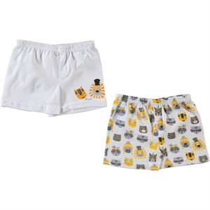 Civil Boys Chirping Baby baby boy's 2-Boxer, yellow, 6-18 months