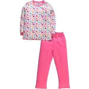 Cvl A Pajama Outfit Age 6-9 Girl Fuchsia