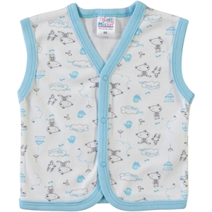 Misket 1-9 Months Baby Vest Turquoise