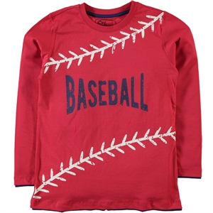Cvl Red Sweatshirt Boy Age 6-9