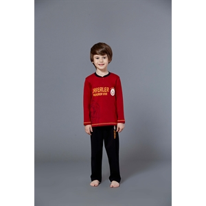Galatasaray Licensed Team Young Boys Pajamas