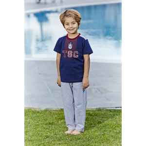 Trabzonspor Licensed Team Young Boys Pajamas