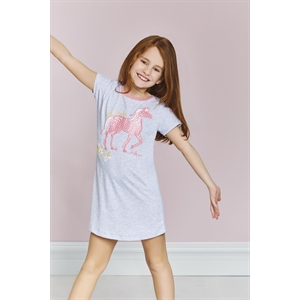 US POLO Young Girl US Polo Night Grey Licensed