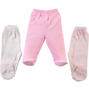 Misket Baby girls 3-Oh single child baby booty Pink 1-3 months