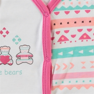 Civil Baby 1-9 Months Baby Girl Vest, Tongue In Cheek (3)