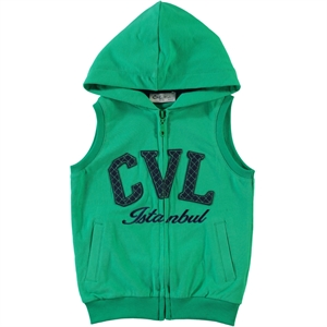 Cvl Yesil Boy Vest 2-5 Years