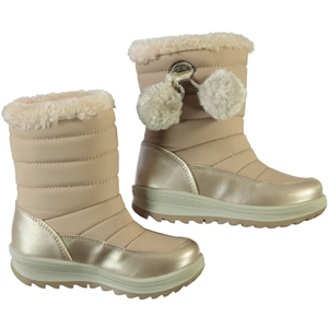 Polact 26-30 Beige Pompom Boots Girl Number