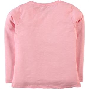 Cvl Kız Çocuk Sweatshirt 6-9 Yaş Pudra Pembe (2)