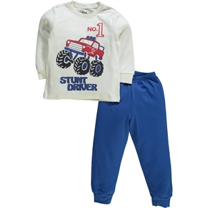 Cvl Pajama Boy Blue Saks A Team Of 2-5 Years