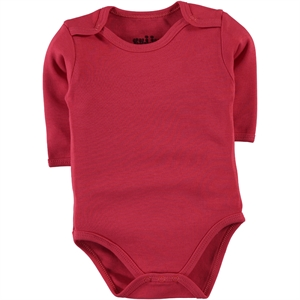 Kujju Tongue In Cheek Combing 0-1 Month Bodysuit With Snaps