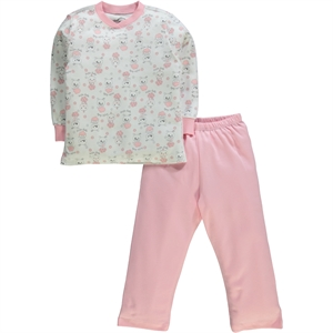 Cvl A Team Of 2-5 Years Girl Slumber Pinkish Orange