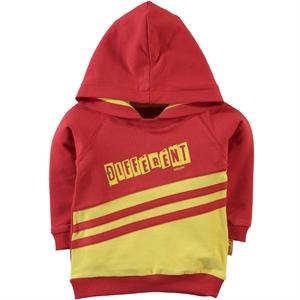 Kujju Boy 6-18 Months Yellow Hooded Sweatshirt
