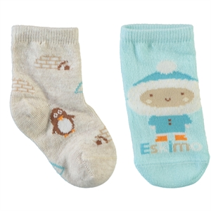 Step Baby girl socks 2-0-24 Months Turquoise