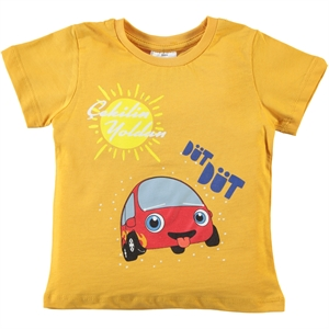 Kukuli Mulberry Mulberry Boy T-Shirt Mustard 2-5 Years