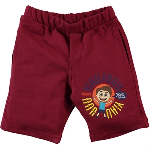 Minky Boy Burgundy Capri 2-5 Years