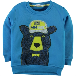 Civil Boys 2-5 Years Blue Boy Sweatshirt