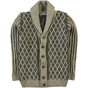 Civil Boys Beige Cardigan Boy Age 10-13