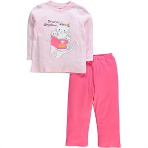 Cvl A Team 2-5 Years Pink Pyjama Girl