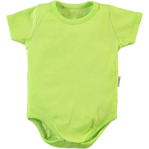 Kujju Cvl 9-18 Months Baby Bodysuit With Snaps Yesil