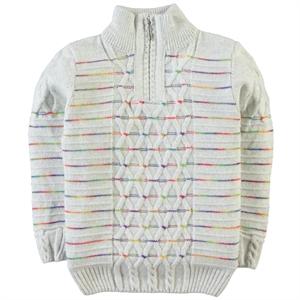Civil Boys Age 6-9 Boy Sweater Gray