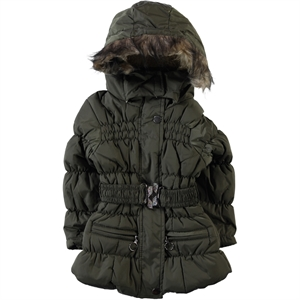 Civil Girls Girls Khaki Coat Age 2-5