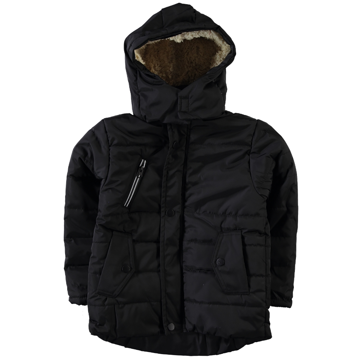 Civil Boys Jacket Age 6-9 Boy Micro Black