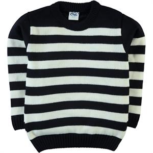Civil Boys Age 6-9 Boy's Navy Blue Sweater