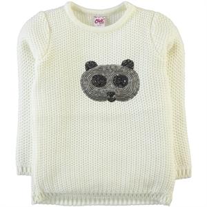 Civil Girls Age 6-9 Girl Cream Sweater