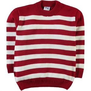 Civil Boys Red Sweater Boy Age 6-9