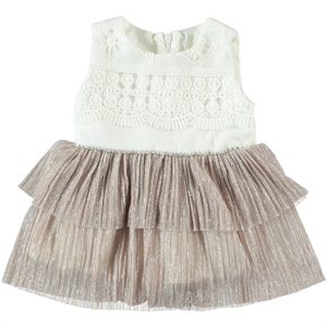 Civil Baby Missiva 6-18 Months Baby Girl Dress Ecru