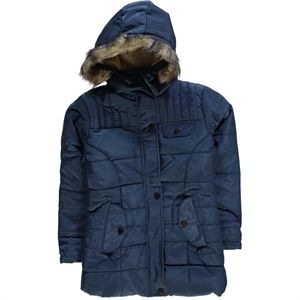 Civil Girls Micro Jacket Indigo Boy Girl Ages 6-9