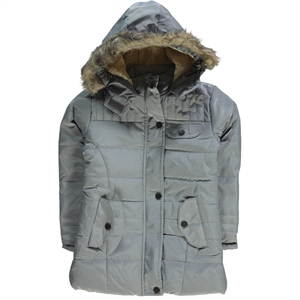 Civil Girls Micro Jacket Age 6-9 Boy Girl Gray