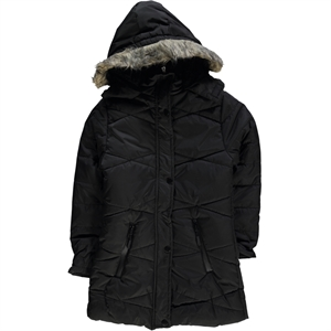 Civil Girls Black Micro Jacket Girl Boy Age 10-13