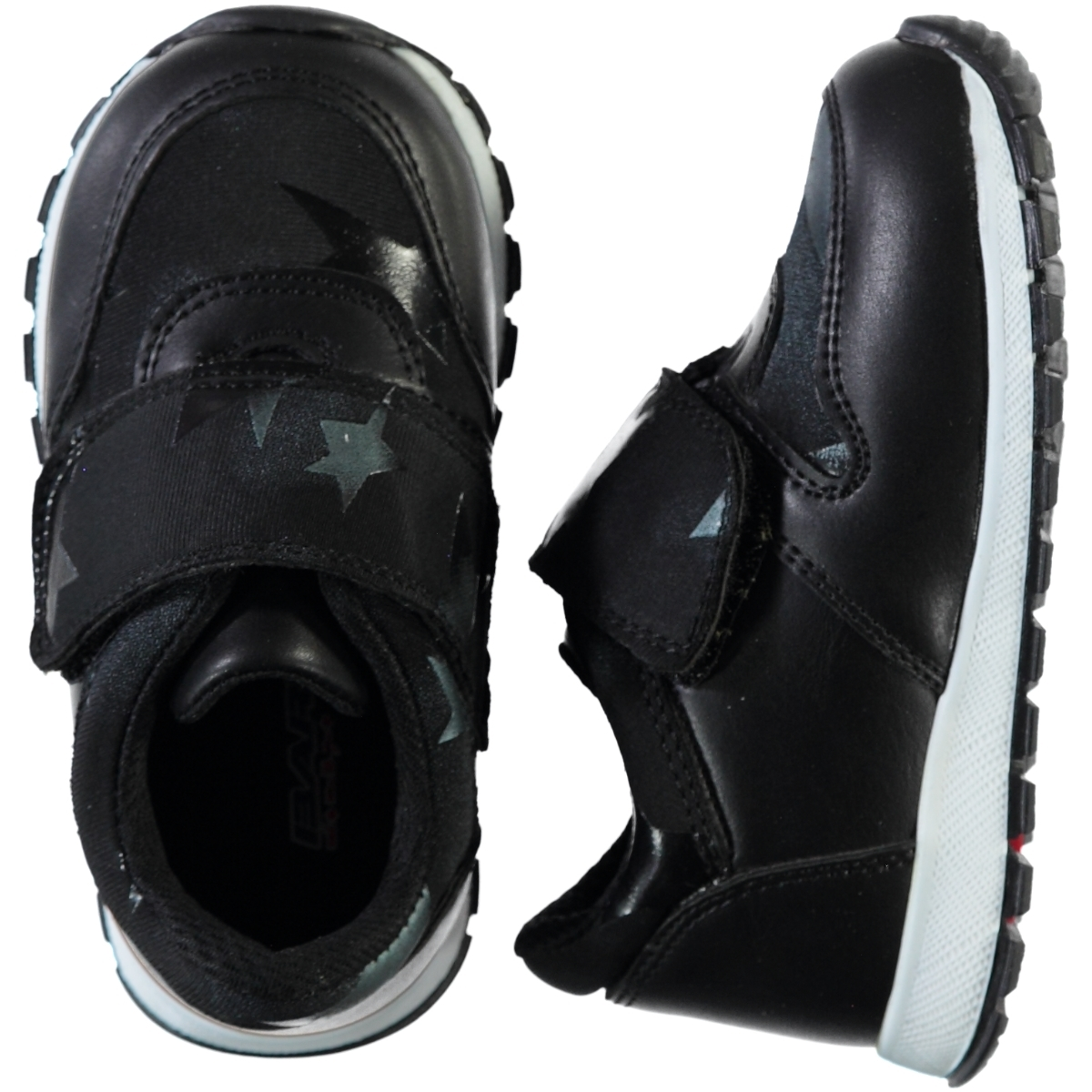 Barbone Boy Black Sneakers Numbers 21-25