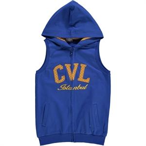 Cvl Age 6-9 Boy Blue Vest Saks