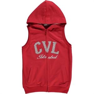 Cvl Red Vest Boy Age 6-9