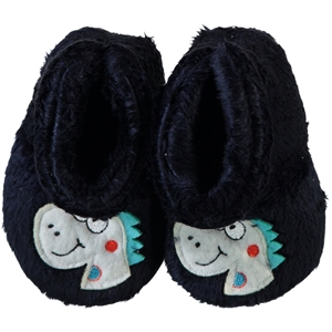 Civil Baby Booties Navy Blue Panduf