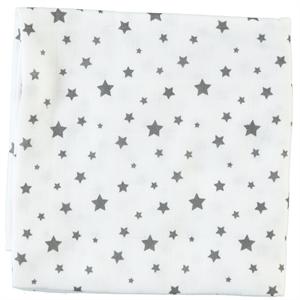 Sevi Bebe Gray muslin blanket 90x90cm (1)
