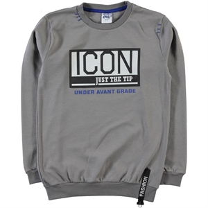 Civil Boys Gray Sweatshirt Boy Age 10-13
