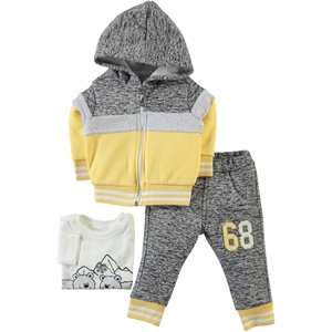 Civil Baby Baby boy 3-Yellow Team