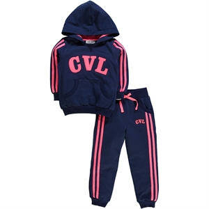 Cvl Kujju Navy Blue Track Suit 2-5 Years